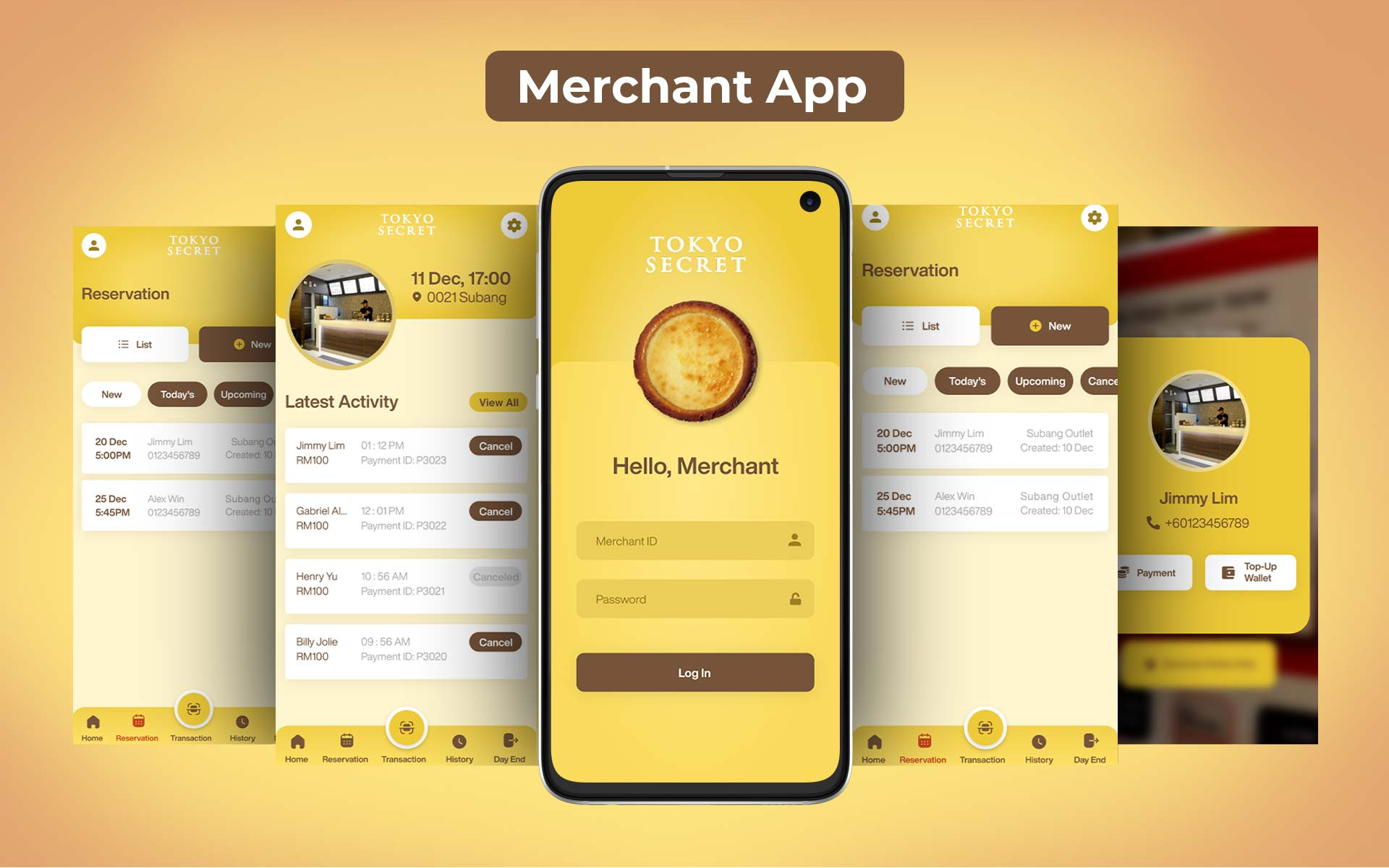 Merchant-App
